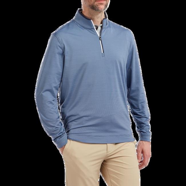 Pullover léger à micro-rayures