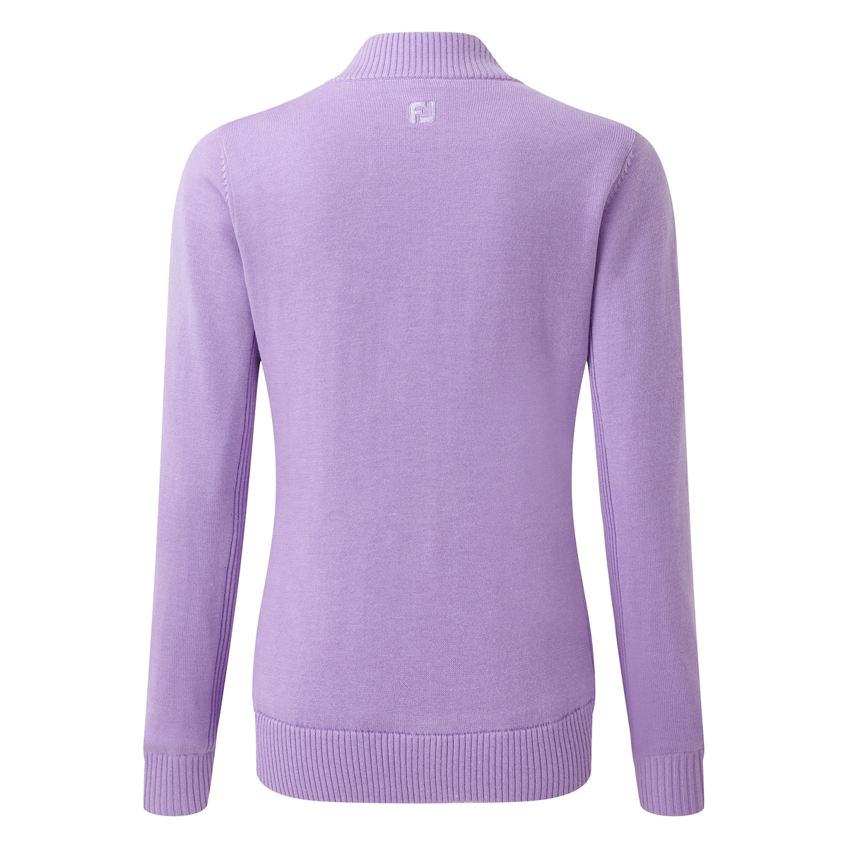 Pullover en laine avec full-zip