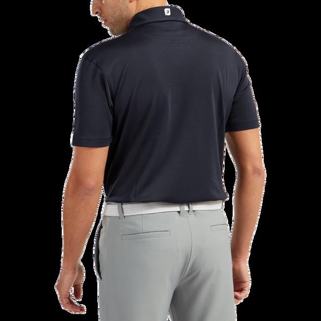 Polo stretch piqué uni