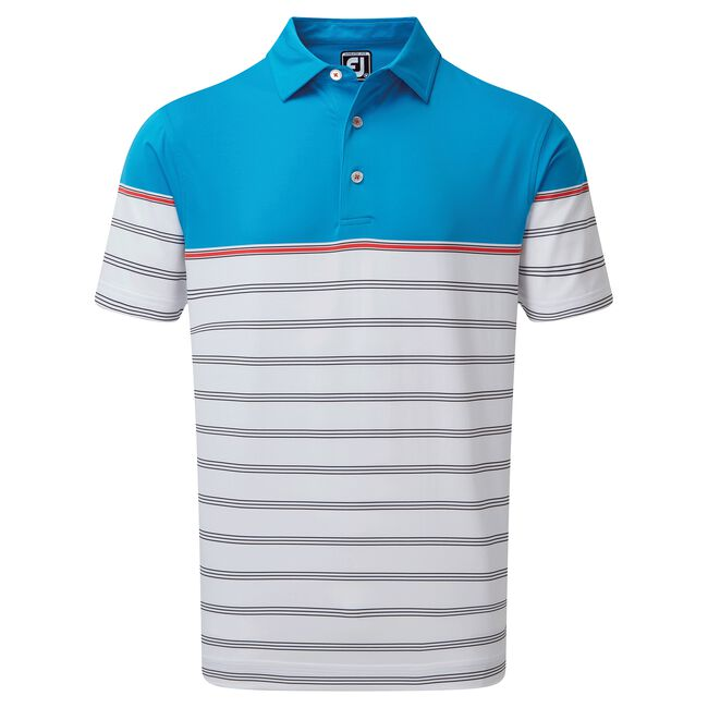 Strech lisle Colour Block Stripe