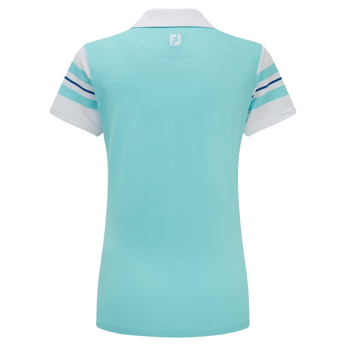 Baby Pique Sleeve Stripe Shirts Femmes