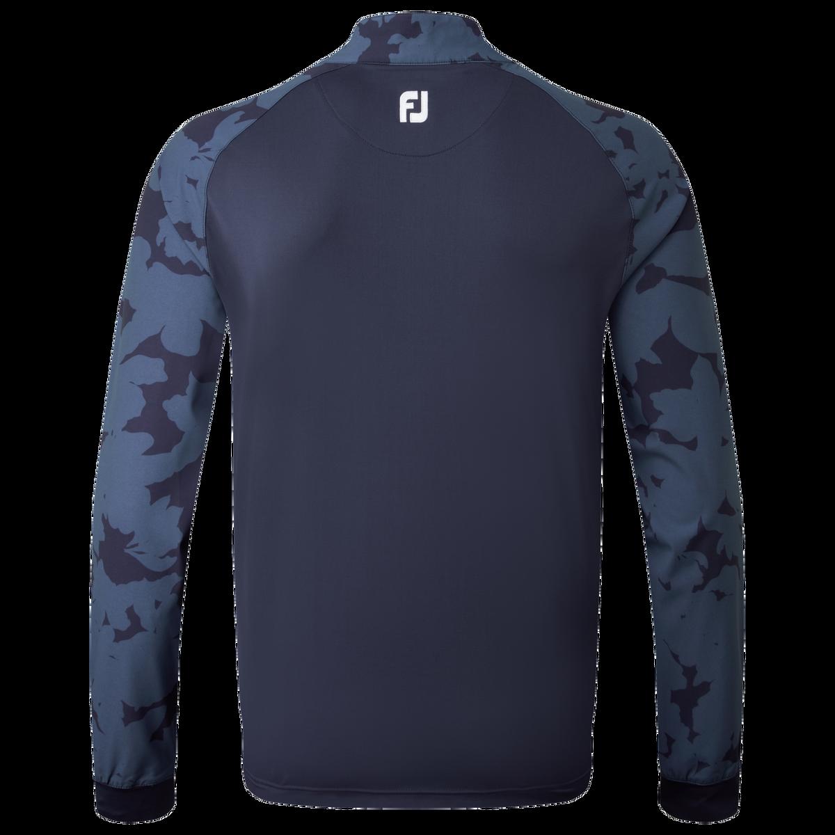 Veste 1/2-Zip imprimé camouflage floral