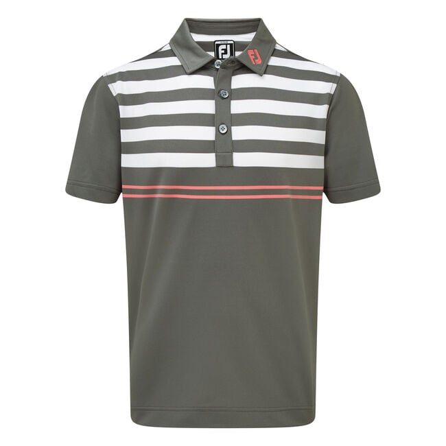 Smooth Pique with Graphic Stripes Junior-Previous Season Style