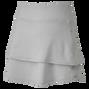 Jupe-short superposée en jersey léger