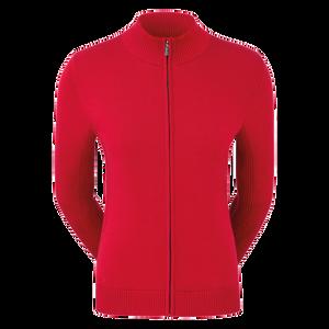 Full-Zip Lined Pullover Women