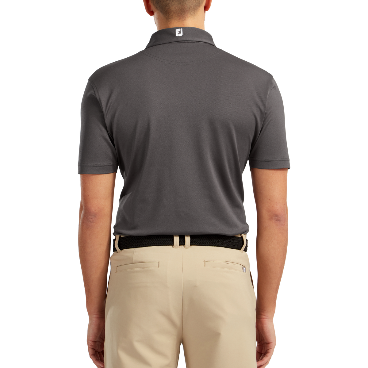 Polo stretch piqué uni