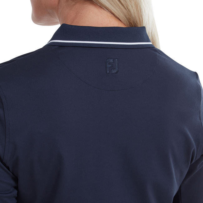 Polo à manches longues thermique pour femme