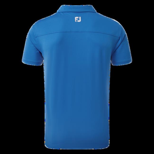 Unifarbenes Jersey-Shirt mit Button-Down-Kragen