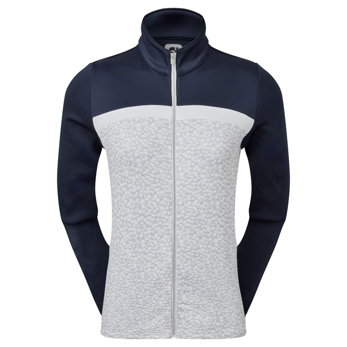 Women's Full-Zip Curved Colour Block Midlayer