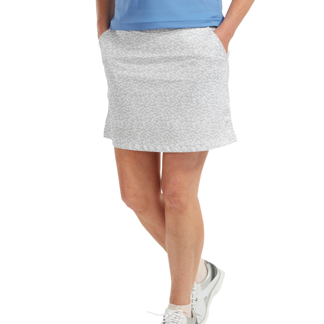 Jupe-short imprimé camouflage floral pour femme