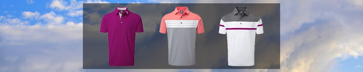 Men's Golf Shirts from FootJoy