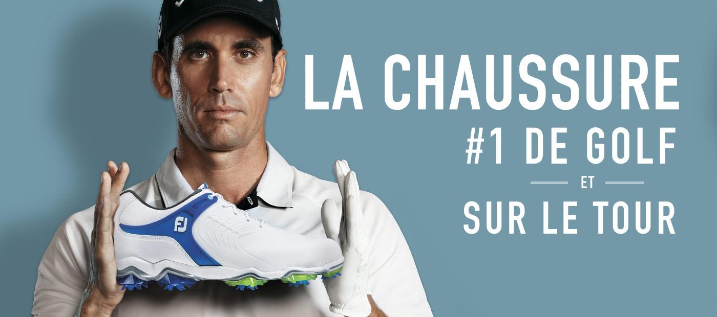 FootJoy Tour S #1 Shoe on Tour in Golf